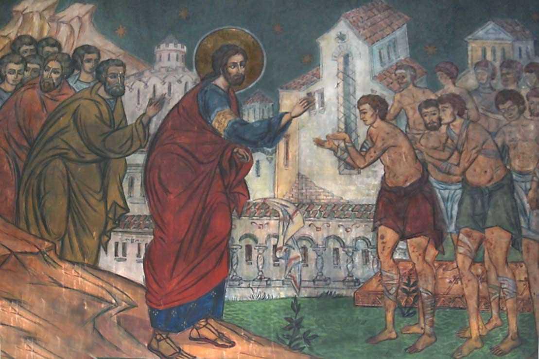 <b>Predica audio a parintelui Ioanichie Balan</b> la DUMINICA CELOR 10 LEPROSI si pentru SF. MACARIE EGIPTEANUL. Cum ne vindecam de lepra pacatului?
