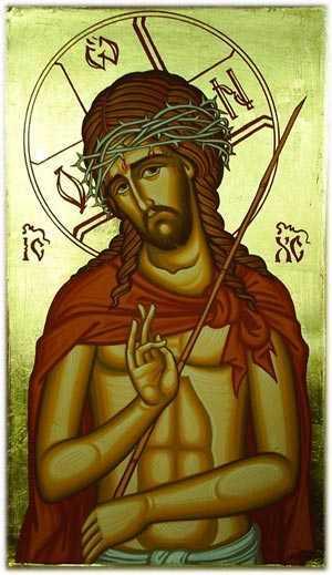 Hristos umilit si batjocorit