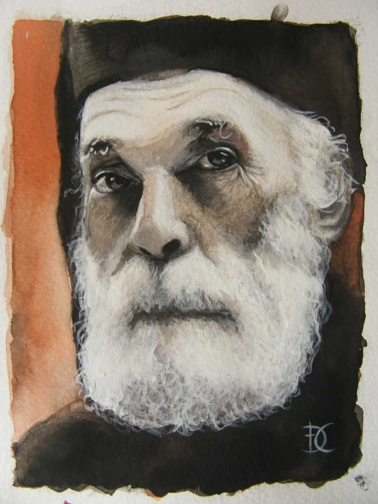 pictura Nicolae Steinhardt 002