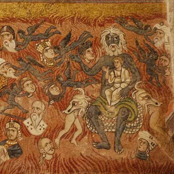 iuda in iad, in bratele satanei