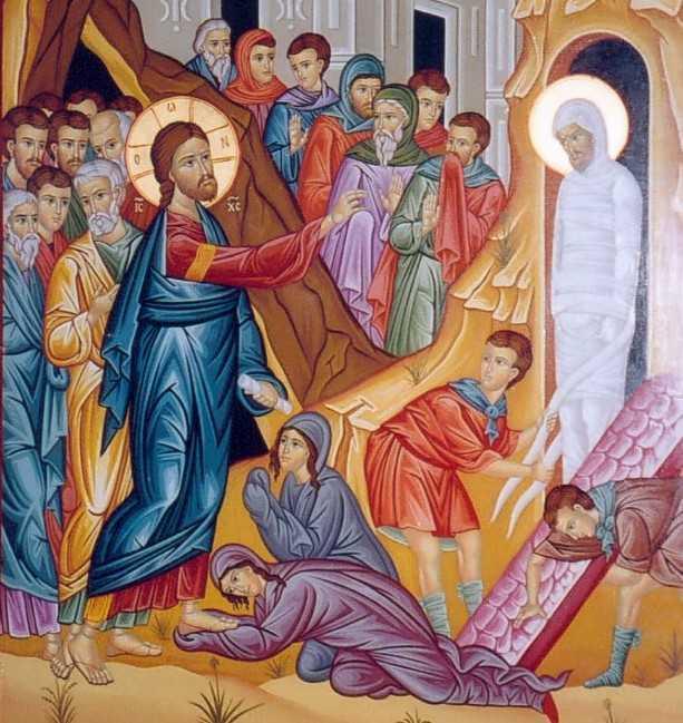 INVIEREA LUI LAZAR – inceputul Saptamanii Patimilor, inceputul drumului catre BIRUINTA ASUPRA MORTII