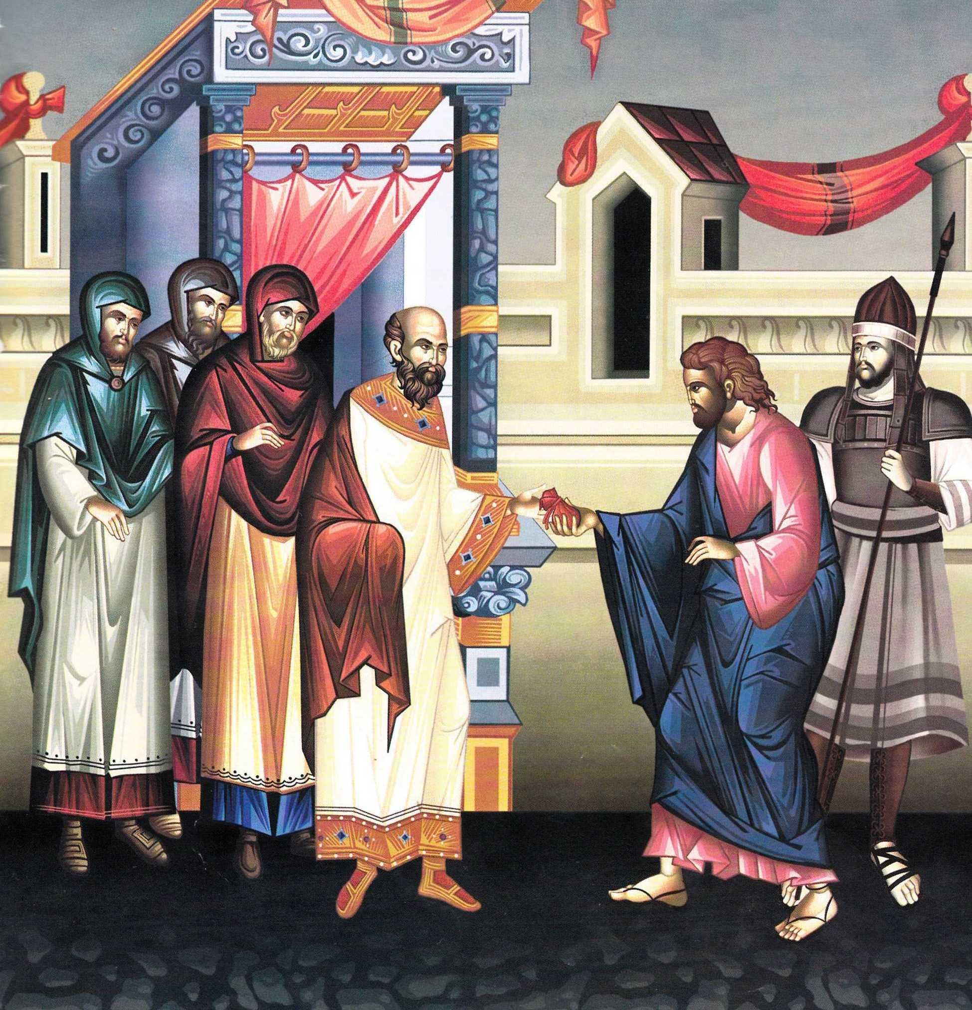 """<b>TRADAREA LUI IUDA</b> PRIN SARUT FATARNIC si formele posibile de NECREDINCIOSIE din partea noastra: <i>""""<b>Dar si noi insine oare nu Il tradam adesea pe Hristos?</b>""""</i>. FIDELITATEA MARTURISITOARE – CONDITIA MANTUIRII"""