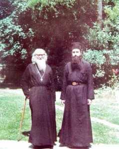 Staretul Sofronie Saharov si Parintele Hieroteos