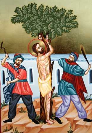 Sf Efrem torturat