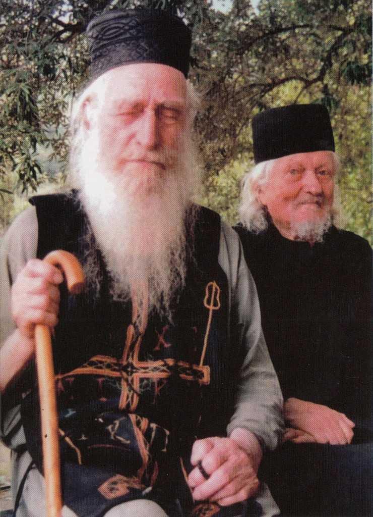 parintele Dionisie Ignat si parintele Ioan Sova - Colciu