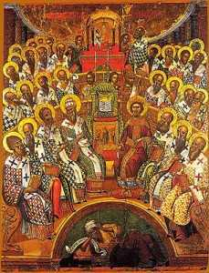 First Ecumenical Council - 16th c. Cretan