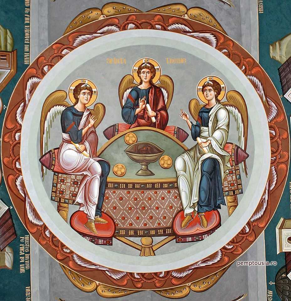 Sorin Efros - icoana Sfanta Treime, schitul Icoana, Gorj