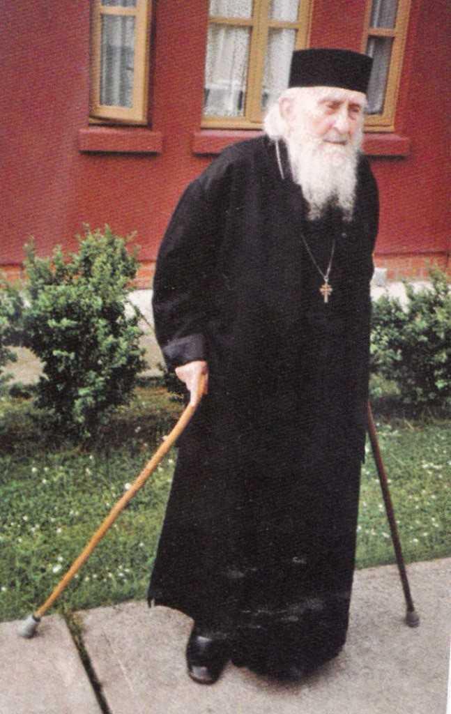 parintele Sofronie Saharov in 1991
