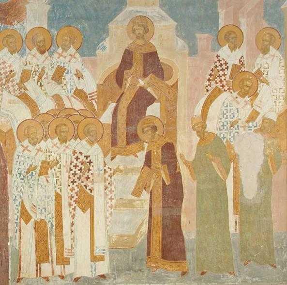 Predica Sfantului Iustin Popovici la DUMINICA SFINTILOR PARINTI DE LA SINODUL INTAI ECUMENIC. Martorii <i>Vietii vesnice</i> traite inca din trup, la care este chemat FIECARE dintre noi