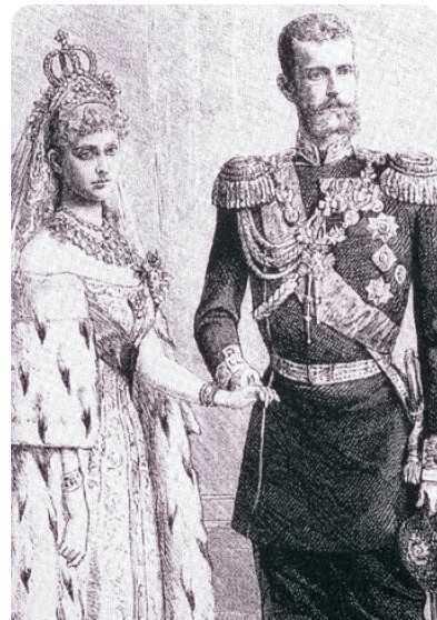 Sfanta Ducesa Elisabeta si Ducele Serghei