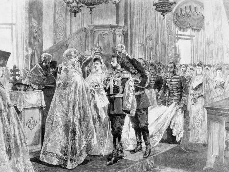 Wedding of Elisabeth Fyodorovna and Serge Alexandrovich