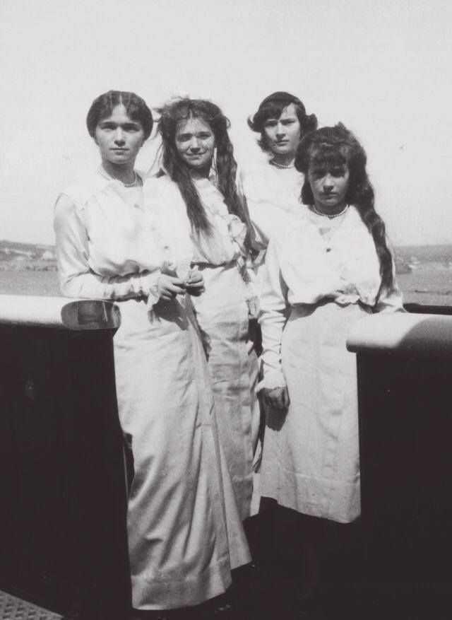 printelele martire - surorile Romanov