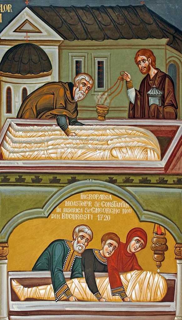 Asezarea-moastelor-în-mormânt-la-Mănăstirea-Halki-și-mutarea-lor-la-București-Sorin-Efros