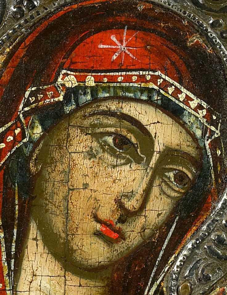 The Holy Theotokos detail