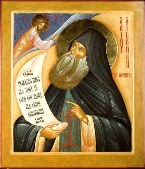 SFANTUL SILUAN ATHONITUL da marturie vie despre IUBIREA MILOSTIVA a lui Dumnezeu pentru CEI PACATOSI