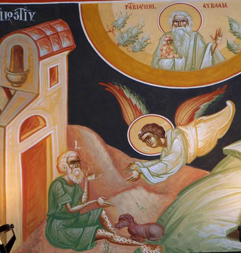 saracul Lazar, caine, ingerul si sanul lui Avraam - Mihai Coman