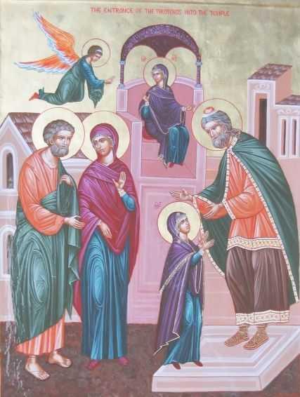 INTRAREA IN BISERICA A MAICII DOMNULUI: Taina sfintei educatii si <i>Templul viu al lui Dumnezeu</i>