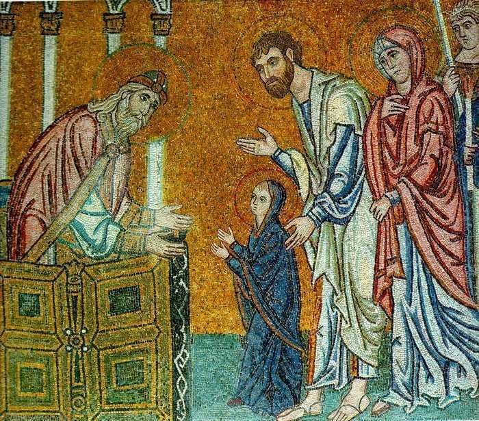 ADUCEREA LA TEMPLU A MAICII DOMNULUI. Smeritele si tacutele lectii duhovnicesti ale Preasfintei Fecioare <i>(si AUDIO, VIDEO)</i>