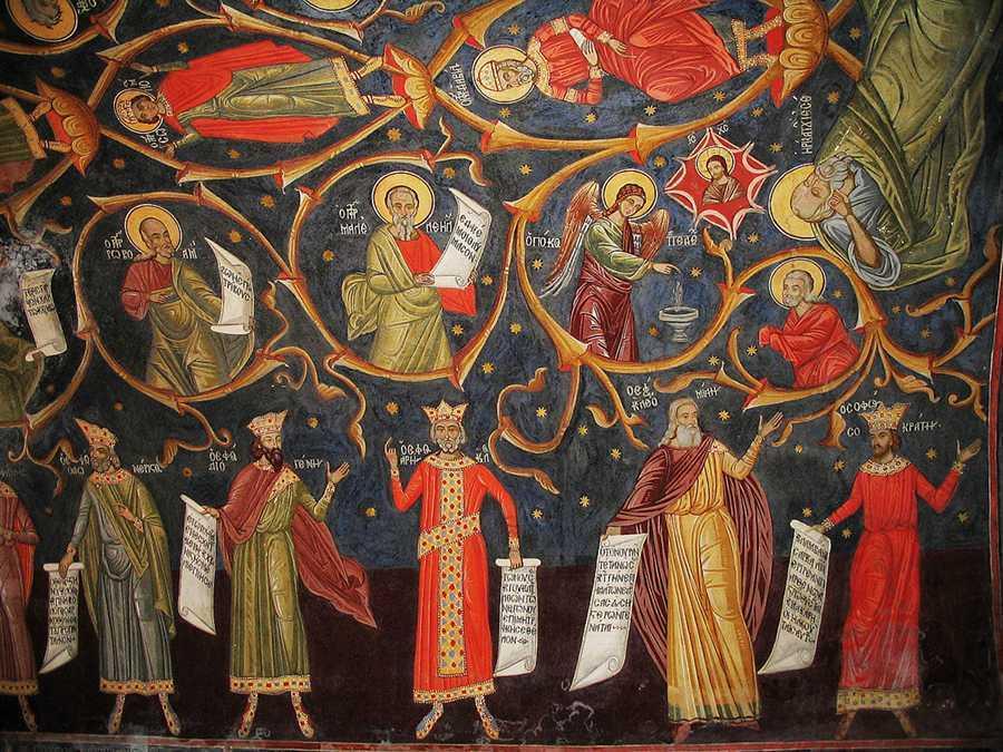 """REVELATIA ADEVARATEI FERICIRI si IMPLINIRI A VOCATIEI OMULUI versus """"CULTURA CADERII"""" ACESTEI LUMI – Omilia Parintelui Nichifor Horia la Duminica sfintilor stramosi: """"Sa staruim in a cere mila lui Dumnezeu pentru noi si pentru lumea biruita de nefericire si deznadejde"""" (AUDIO)"""