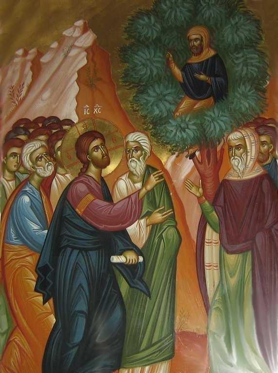Predica audio la Duminica VAMESULUI ZAHEU a Arhimandritului Nichifor Horia: <i>SA VENIM CATRE HRISTOS NU PENTRU A NE FI MAI USOR, CI PENTRU A NE SCHIMBA VIATA…</i>
