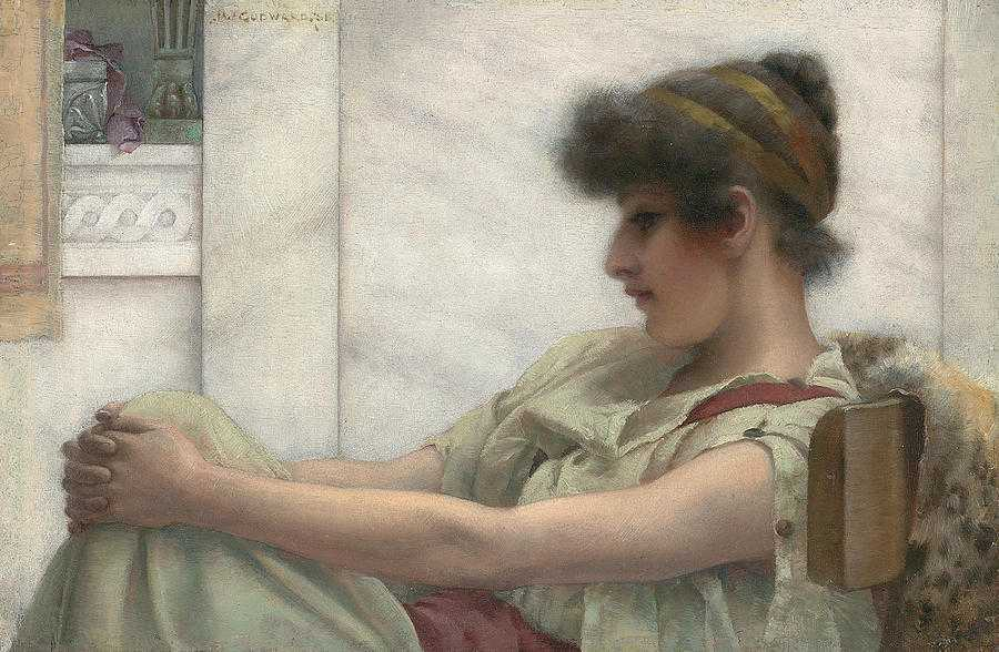 reverie-john-william-godward