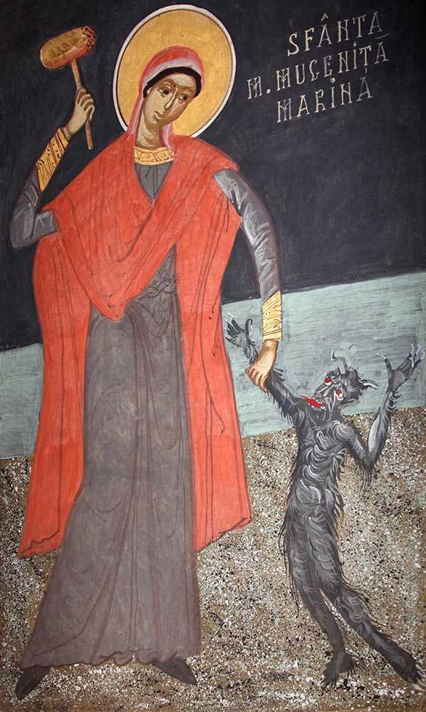 SFANTA MARINA – copila marturisitoare
