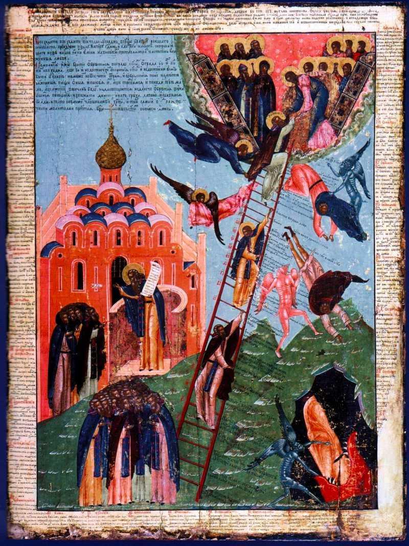 """<i>""""POCAINTA este si o IESIRE DIN IDOLATRIA MODERNA. Noi am intrat in imperiul asta al 'BUNASTARII', al vietii 'mai bune', pentru ca DIAVOLUL STIE CA FACE MAI MULTA ROADA CU 'BUNASTAREA' DECAT CU PRIGOANA</i> – Predica audio in Duminica Sfantului Ioan Scararul a PROTOS. IOAN de la SIHASTRIA PUTNEI"""