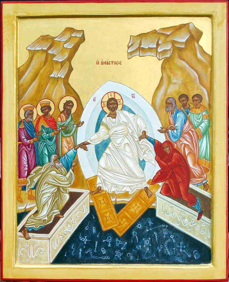 HRISTOS A INVIAT! &#8230;inseamna ca viata este mai tare decat moartea (<i>din cugetarile Sfantului Nicolae Velimirovici</i>)