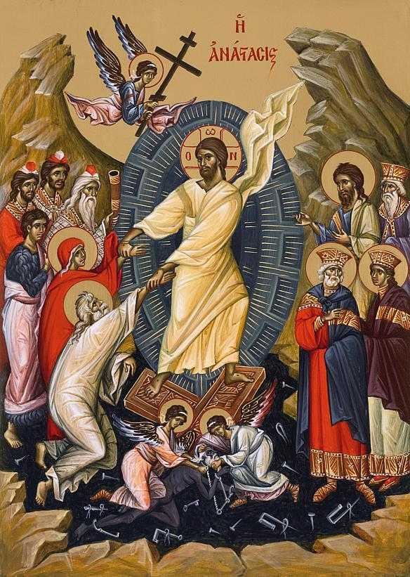 Invierea-Domnului-icoana-contemporana-Vatopedi-in