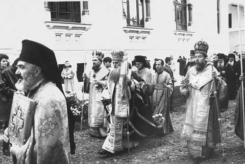 Patriarhul Justinian cu Teoctist