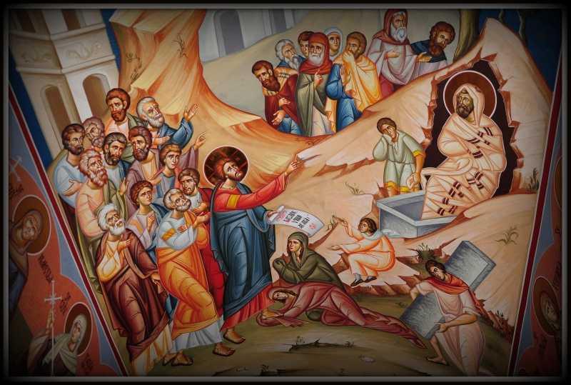 invierea Lazar