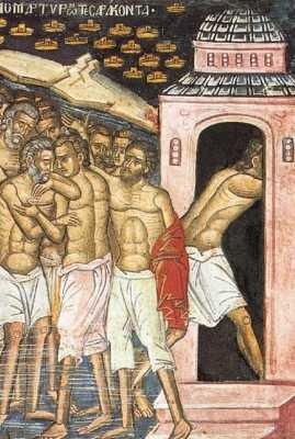 marturisire si lepadare la mucenicii din lacul Sevastia