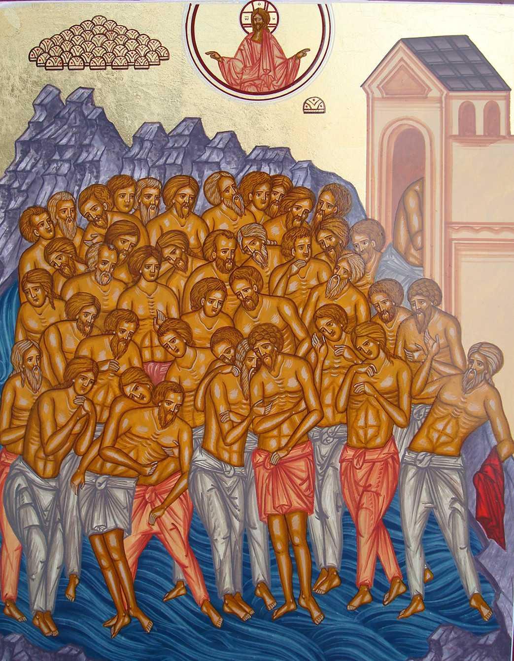 Sfintii 40 de Mucenici: FORTA COMUNIUNII MARTURISITOARE