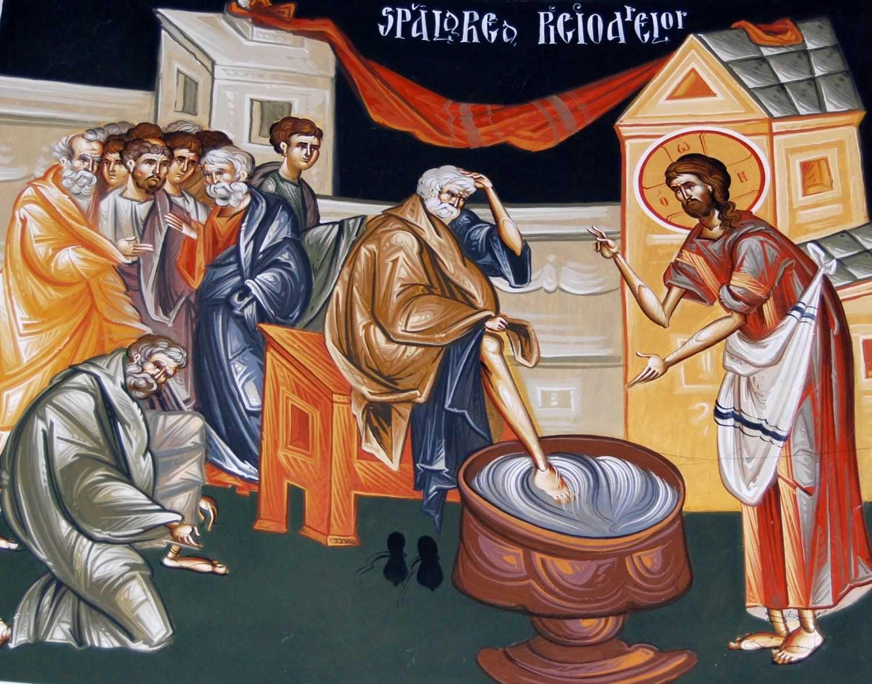 TAINA SPALARII PICIOARELOR IN VIATA NOASTRA sau… cand Dumnezeu ingenuncheaza in fata mea… LACRIMA SI HAR de la Parintele Constantin Sarbu