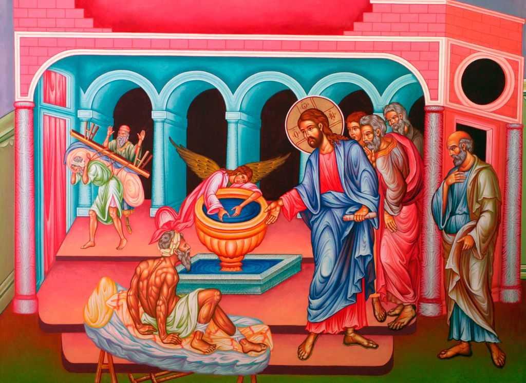 """<i>""""Nu am om!""""</i> – SINGURATATEA, IZOLAREA, INDIFERENTA DE NEIERTAT vs. MENIREA BISERICII ca Trup tainic al lui Hristos: <i>""""FIECARE CADE SINGUR, dar ne mantuim in comunitatea Bisericii""""</i>; """"Toti ne ingrijim numai pentru noi insine, insa pentru celalalt nu facem nimic si de aceea vom da socoteala"""""""