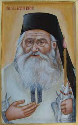 parintele Iustin portret
