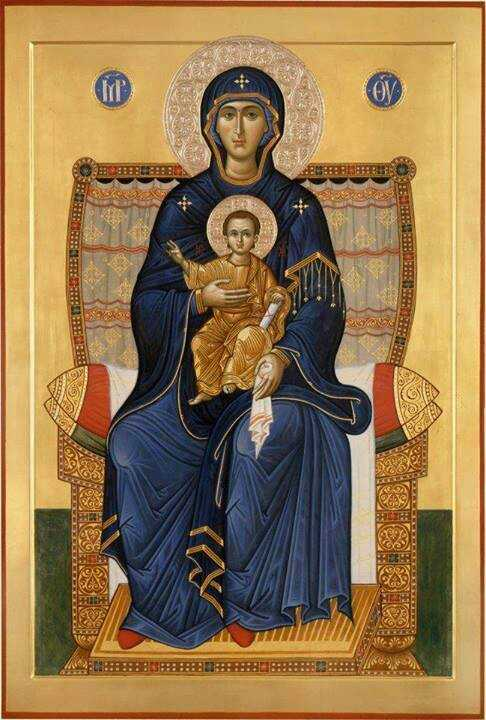 Theotokos as the Throne of God