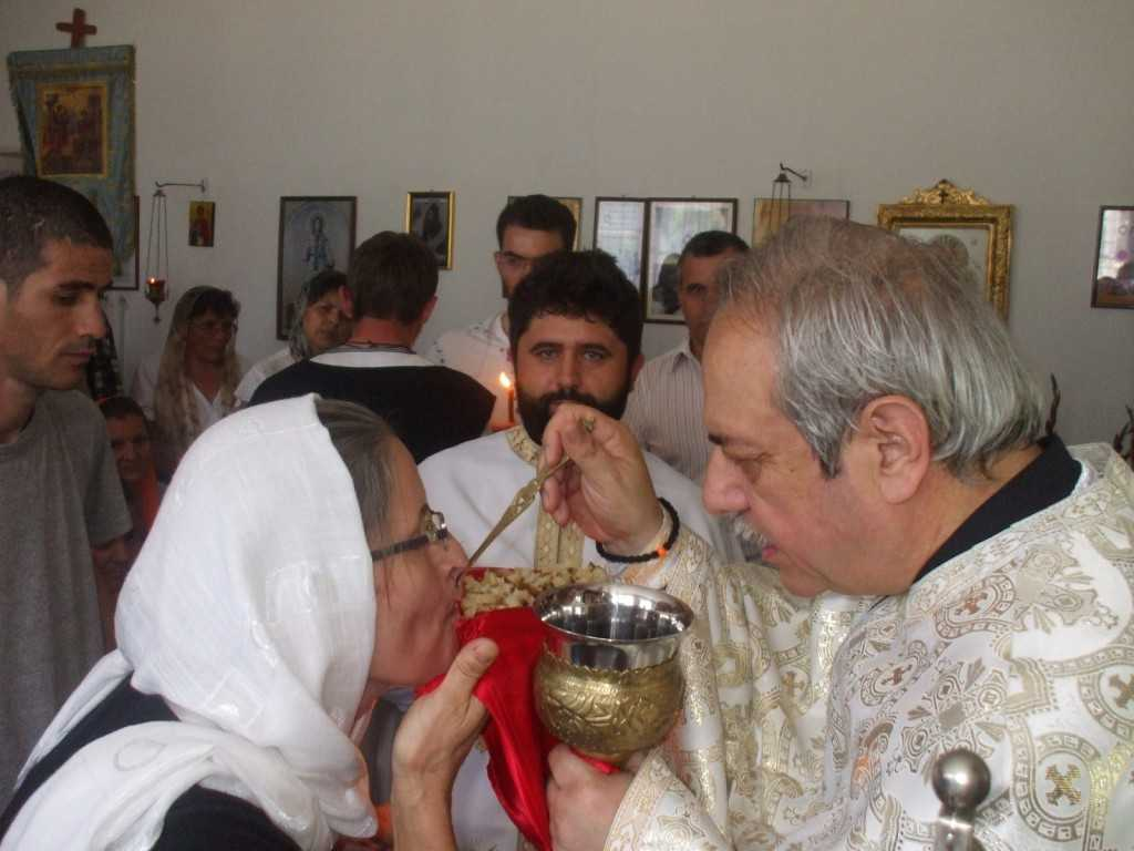 impartasire capela spital Jebel Timis