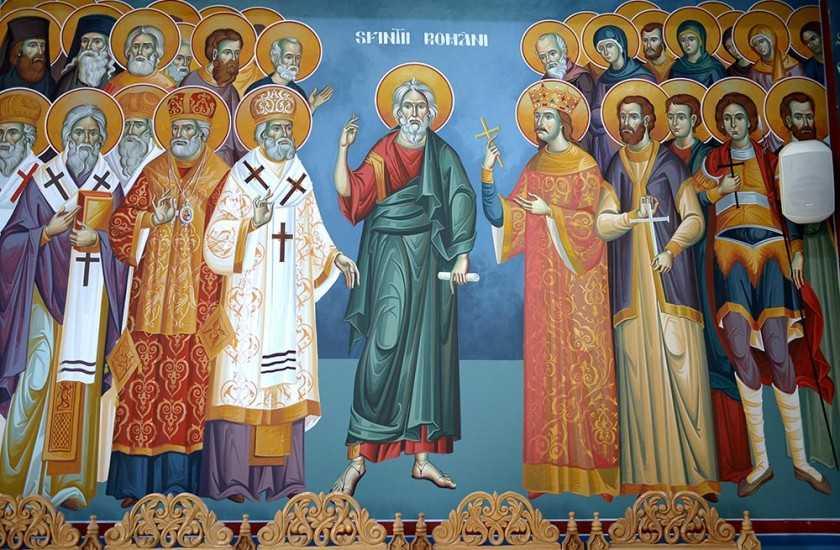 sfinti-romani
