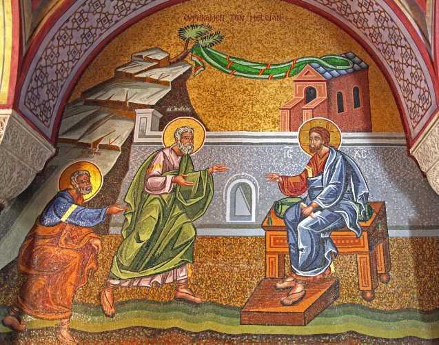 CUM SE APROPIE DUMNEZEU DE INIMILE NOASTRE SI CUM II RASPUNDEM NOI? <i>&#8220;Credem mai mult cuvantului lui Hristos sau cuvantului lumii acesteia, care pe toate le rastalmaceste? SA NU PLECAM DIN BISERICA SI SA AVEM O ALTA VIATA, PARALELA&#8221;</i>. Predica audio a Parintelui Nichifor la Duminica a II-a dupa Rusalii