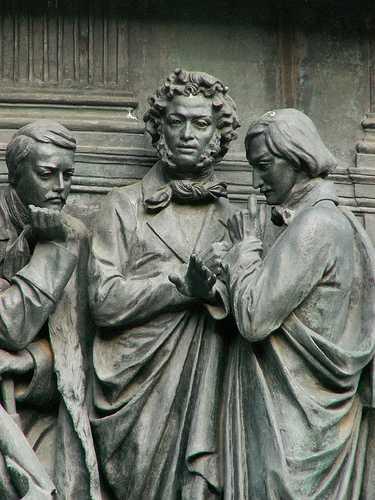Lermontov, Pushkin, Gogol