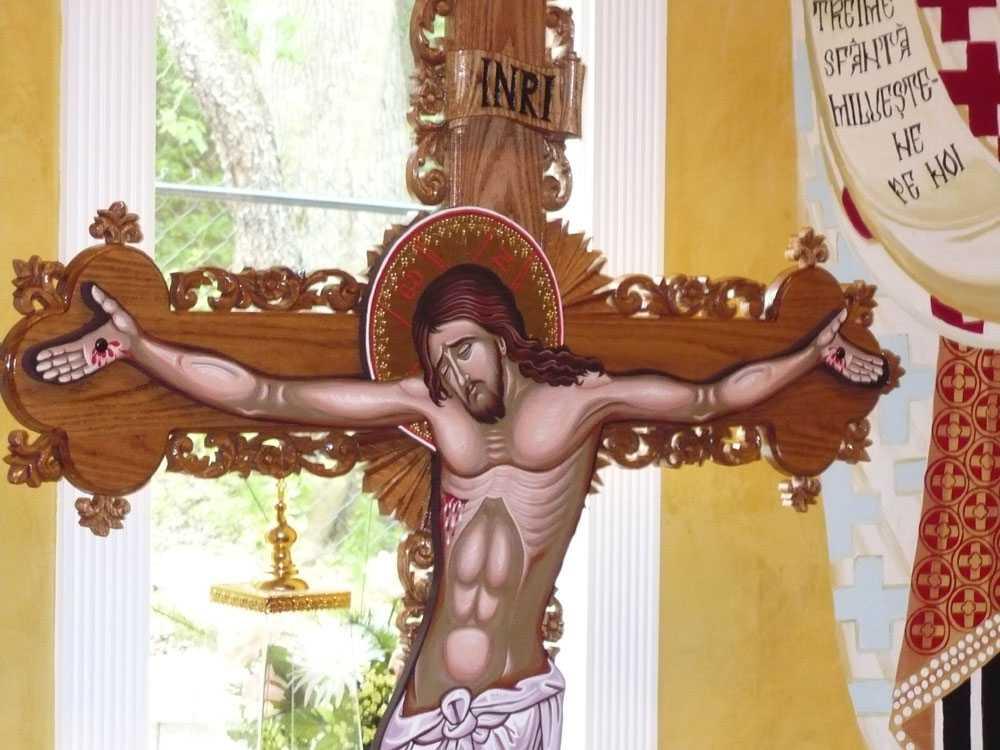 &#8220;IUBIREA NEBUNA&#8221; A LUI DUMNEZEU si TAINA SLUJIRII: <i>&#8220;A te darui, fara sa te impui&#8230;&#8221;</i>. Parintele Staniloae despre SENSUL CRUCII ca IMPREUNA-PATIMIRE ODIHNITOARE: <i>&#8220;Numai Crucea darama zidul; Biserica sta pe iubirea rastignita&#8221;</i>