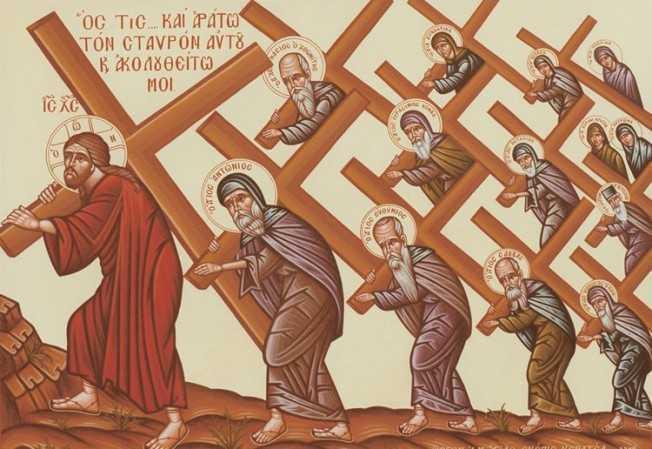 """URMAREA LUI HRISTOS PANA LA RASTIGNIRE. <i>""""Domnul a venit SA FIE CU NOI IN FIECARE ZI, Domnul TANJESTE SA FIE CU NOI SI IN CELE MAI ADANCI INTRISTARI ALE NOASTRE, chiar pana la moarte sa fie CU NOI""""</i>. Cuvant (audio, text) la Duminica dupa Inaltarea Crucii al unui preot american convertit"""