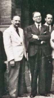 Sandu Tudor si Codin Mironescu, 1943