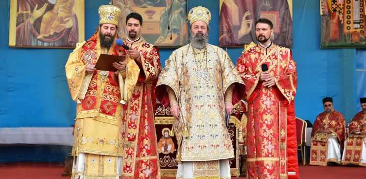 Mitropolitul Pavlos de Drama la sărbătoarea Sf. M. Mc. Dimitrie