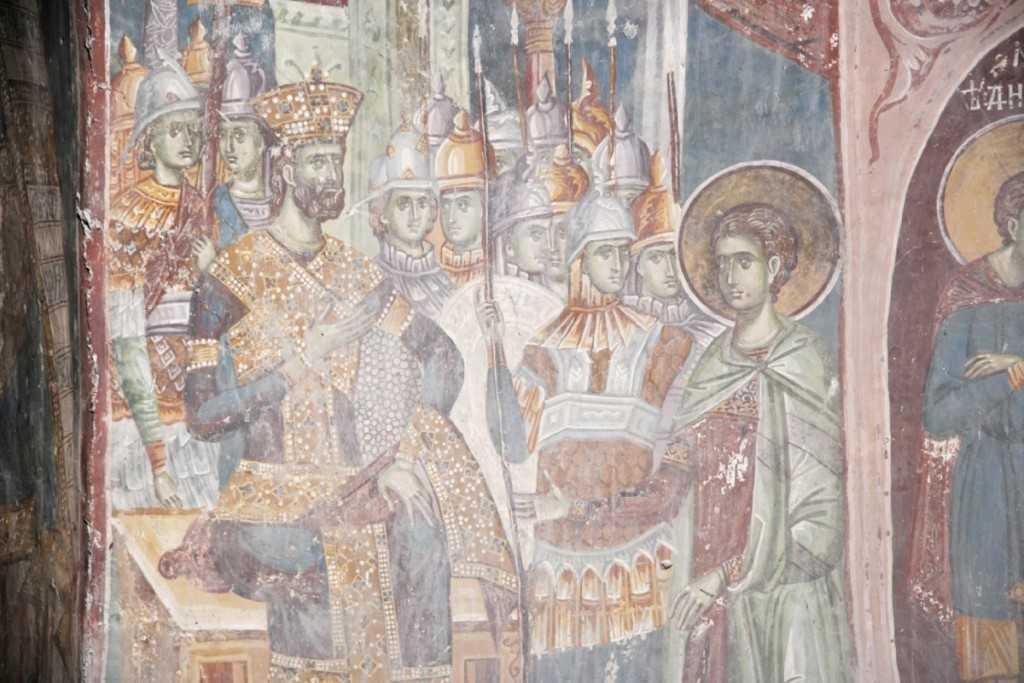 St. Demetrios before Maximian