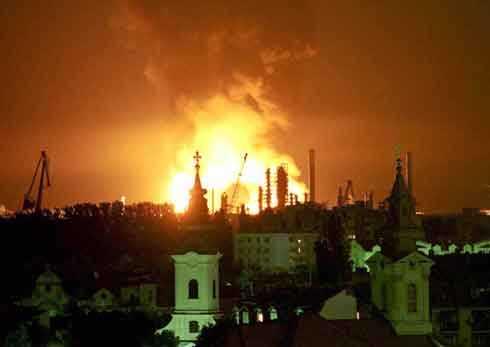 NATO bombing in Serbia