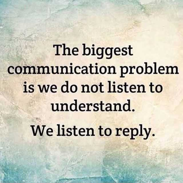 quotes about people not listening