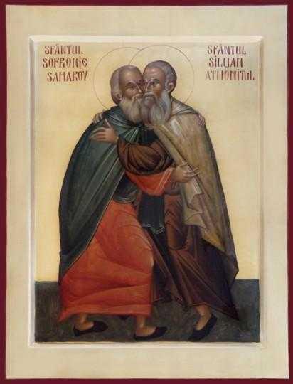 2008-06-18-10-06-4613 Sf Siluan Athonitul si Sf Sofronie Calin Vadan