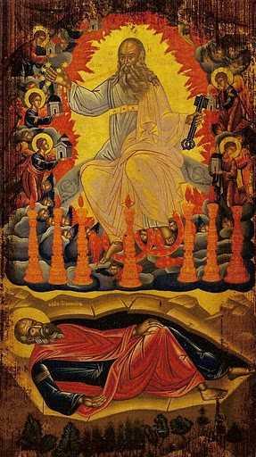 <i>&#8220;Cât de mare este harul tău, Sfinte Ioan?&#8221;</i>. PUTEREA DUMNEZEIASCA A UCENICULUI IUBIT &#8211; Marturii sfinte din Patmos, insula &#8220;Apocalipsei&#8221;. SFANTUL PORFIRIE: <i>&#8220;L-am văzut pe Sfântul Ioan Teologul, pe ucenicul lui, Prohor, am trăit evenimentele dumnezeieştii Apocalipse, întocmai aşa cum s-au petrecut&#8221;</i>